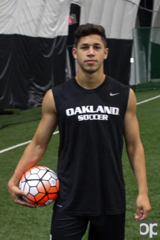 Ricci grew up playing soccer. He chose Oakland because of the quality players, competitive environment, great facilities, expert coaches and the short distance from home.