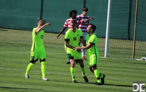 Oakland 1 Dayton 0: Men's soccer grabs Homecoming win