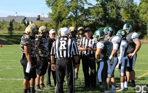 Oakland 35 MSU 0: Golden Grizzlies defeat Spartans in club football homecoming game