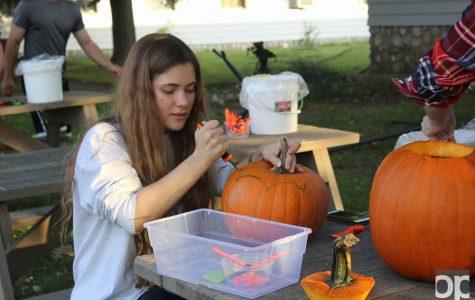 Campus Student Organic Farm hosts first Halloween Bash