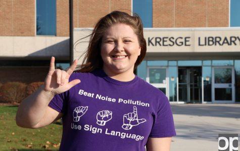 Deaf student shares her story in ASL program