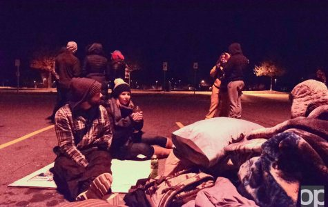 The issue of homelessness brought to OU's attention