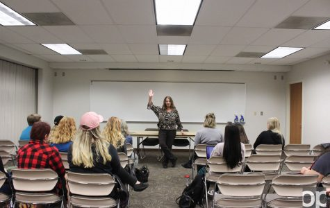 OUPD's Detective Collins discusses domestic violence and sexual assault