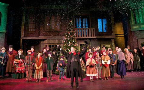 From basketball court to stage: Scrooge's story