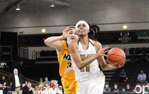 Women's basketball takes down NDSU 95-66