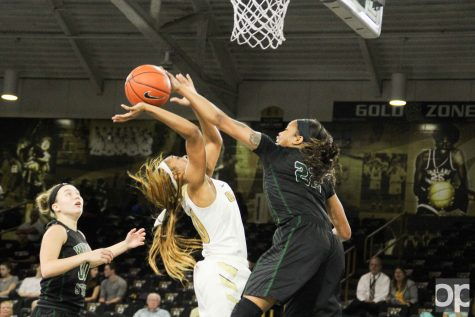 Rough first half makes women's basketball incapable of comeback against Raiders