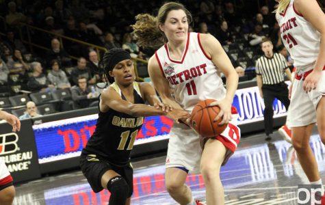 Women's basketball loss heats up Horizon League rivalry