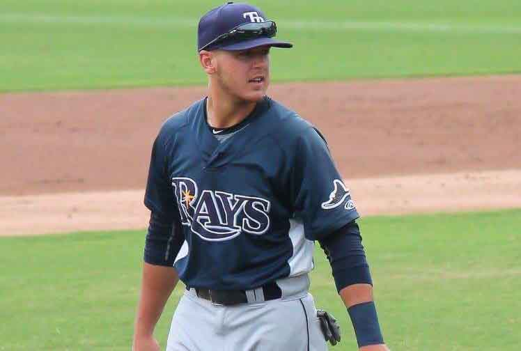 Oakland+baseball+alumnus+Mike+Brosseau+has+been+playing+third+base+for+the+Rays+organization.