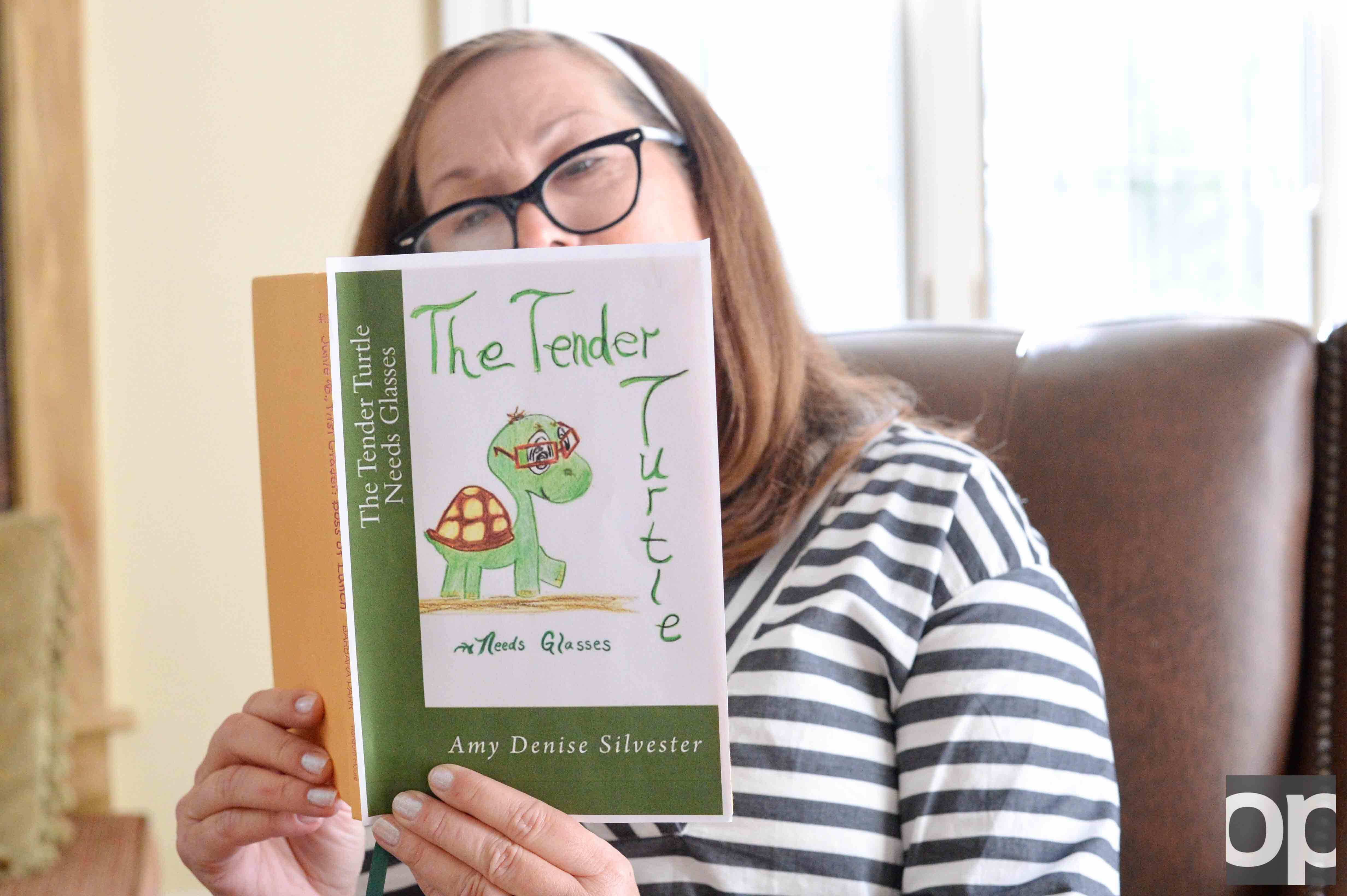 "Oakland University '96 graduate Amy Silvester gets ""The Tender Turtle"