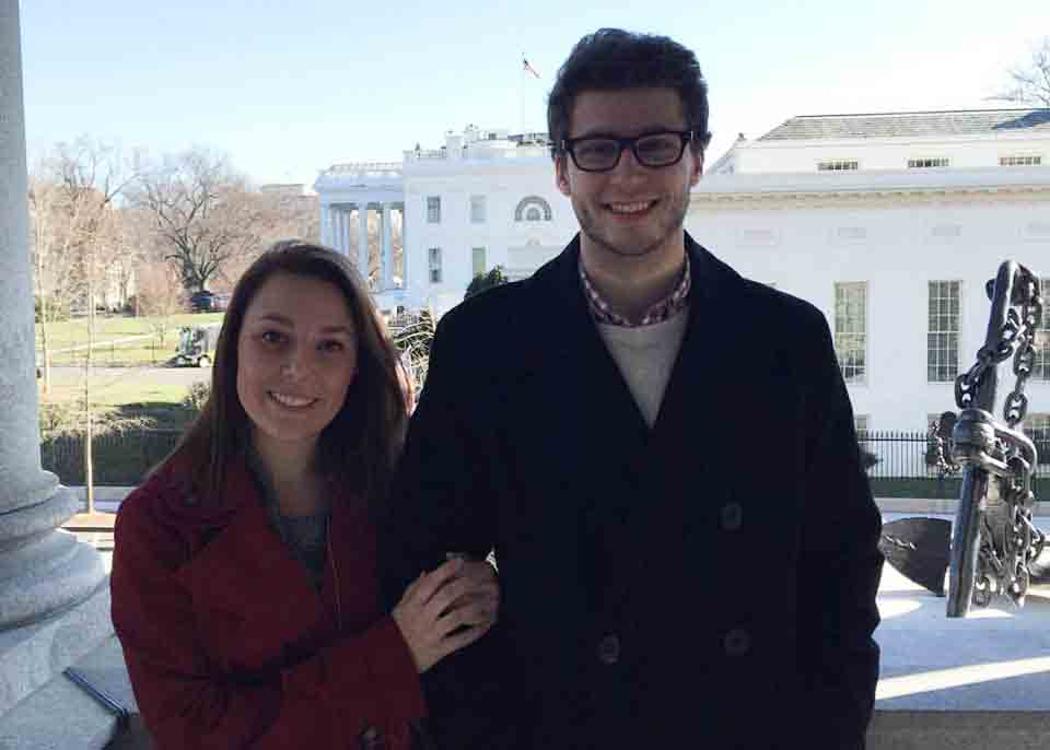 Jenna Blankenship and Adam George are pursuing political careers. Blankenship moved to Washington D.C.