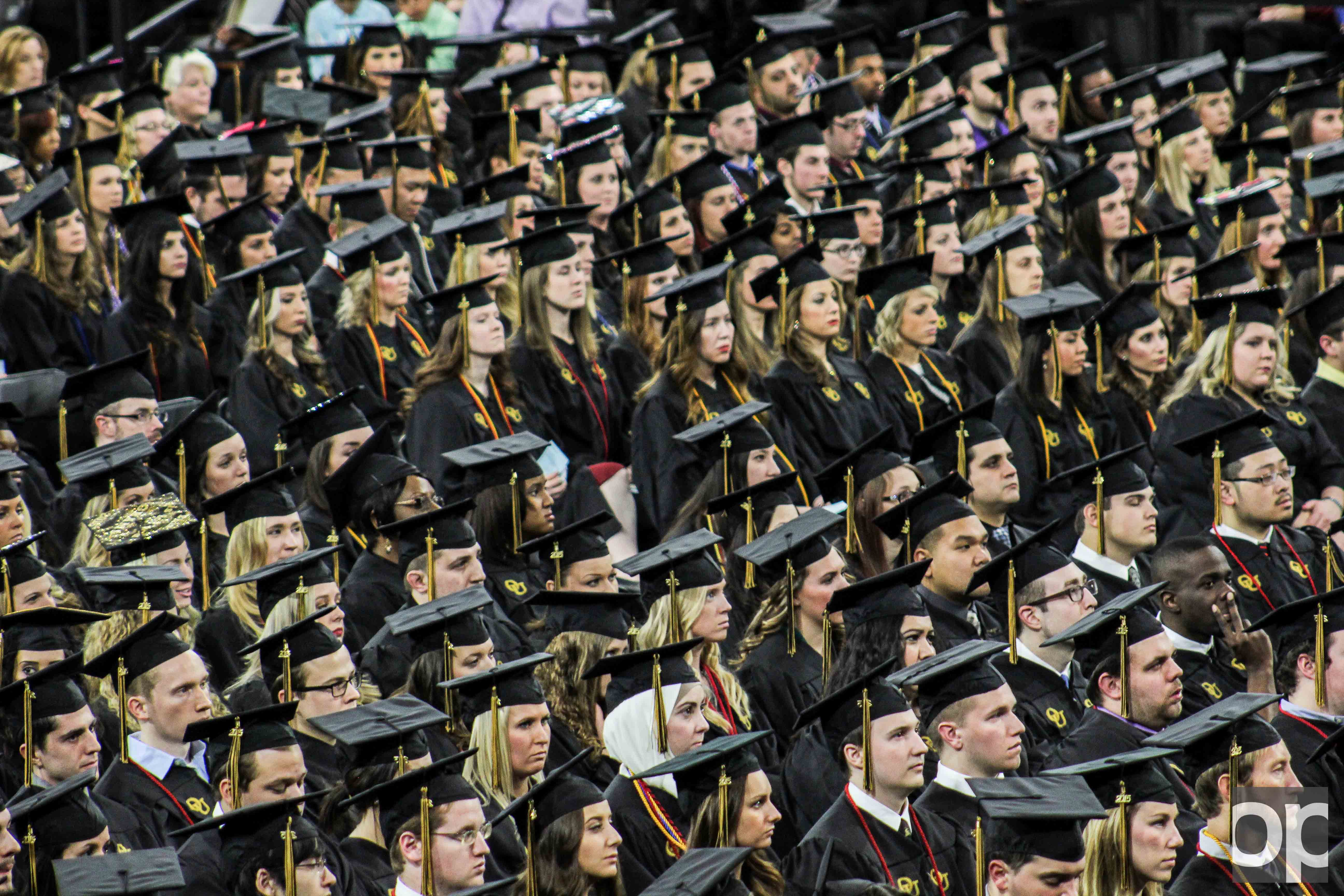 Students can deck out their graduation caps for a chance to be featured on Oakland's social media accounts.