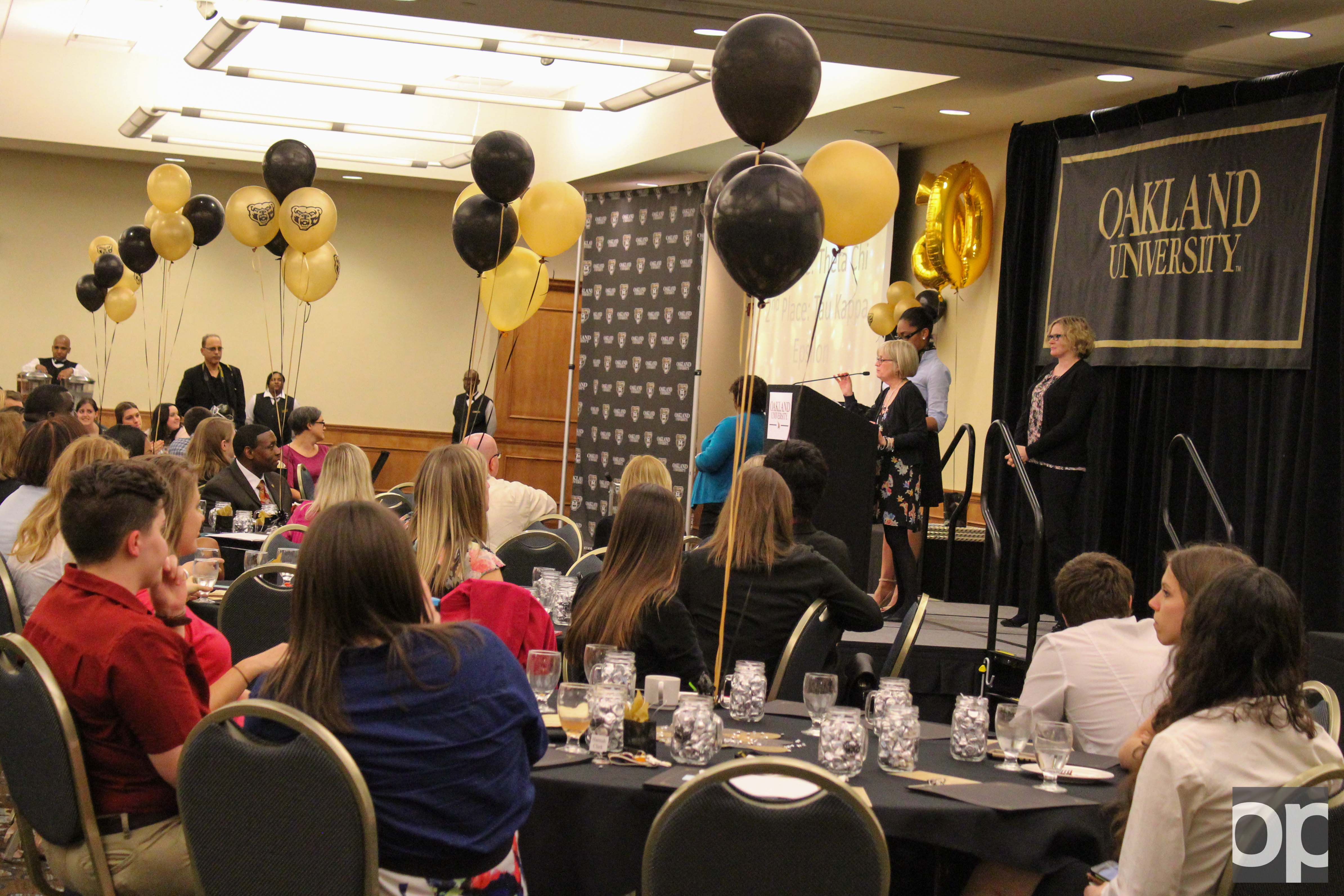 The annual Student Activities and Leadership Award Banquet was celebrated with the theme