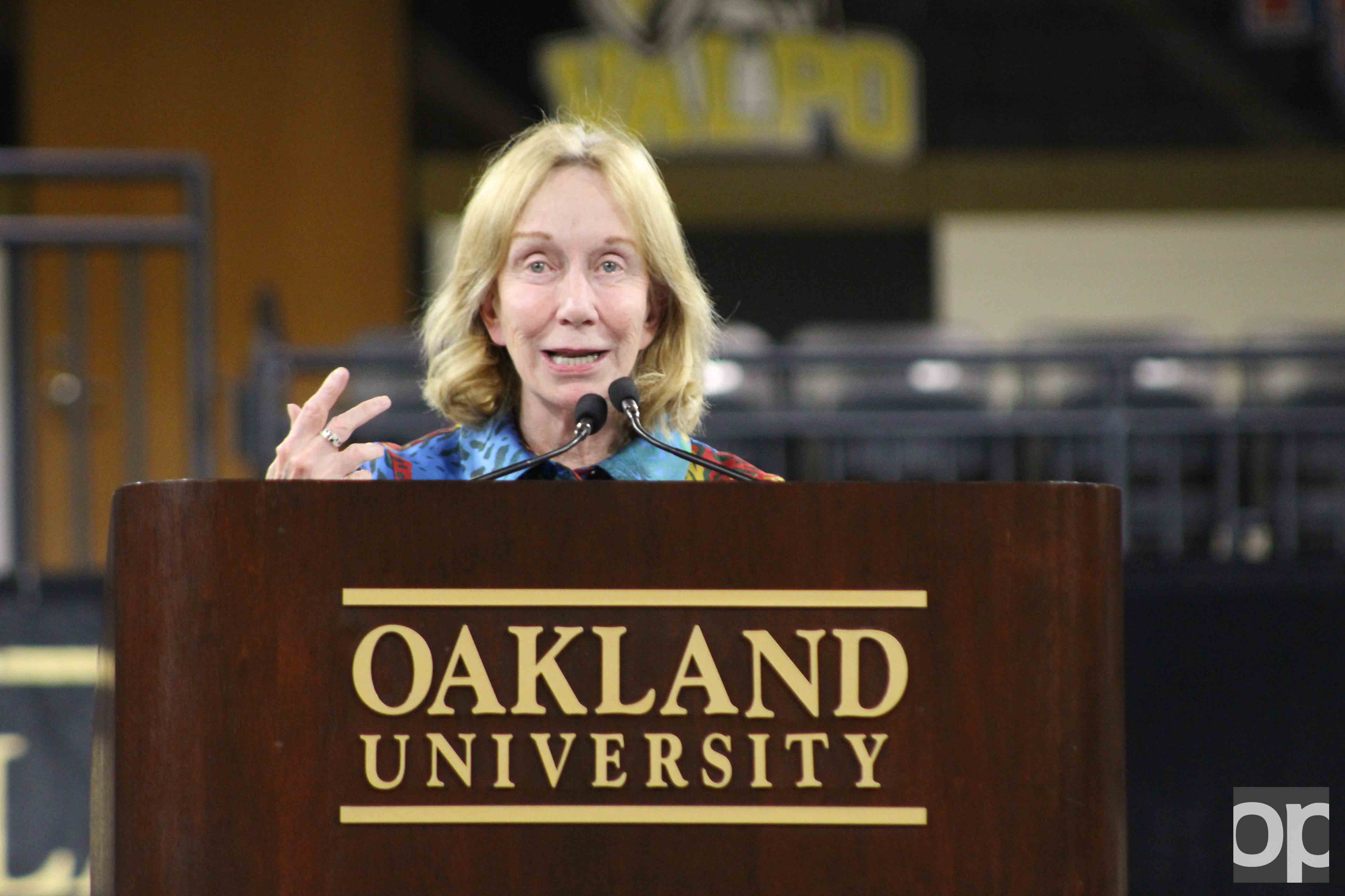 "Doris Kearns Goodwin speaks at ""How Did We Get Here: The First 100 Days of an Unprecedented Presidency."""