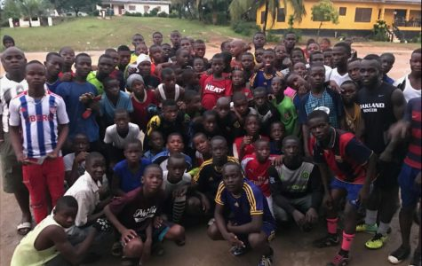 Oakland soccer player pays tuition and supports soccer team for kids in Liberia