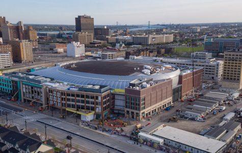 Men's basketball set to take on Michigan State at Little Caesars Arena
