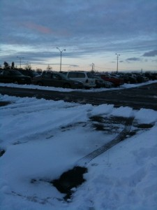 Vandenberg parking lot to be plowed at 7 p.m. Thursday, residents encouraged to move their vehicles to P-3.