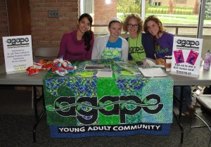 Agape provides students a welcoming faith community