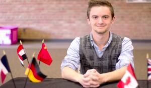Student harbors ambition for internationalism