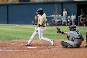 Junior catcher Nolan Jacoby hit two homeruns and 17 RBIs for the Grizzlies in 2012. Oakland finished the Summit League tournament with a 1-3 record after a loss to Oral Roberts.