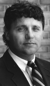 Coach Kampe during the early 90s. (Photo courtesy of the Kresge Archives.)