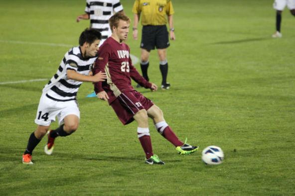 Men's Soccer Team Beats IUPUI 2-0
