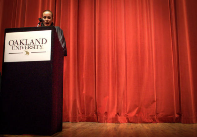 Daughter of Fidel Castro shares with OU  crowd her life with(out) her father