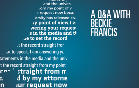 Q&A with Beckie Francis:  'It is time to set  the record straight'