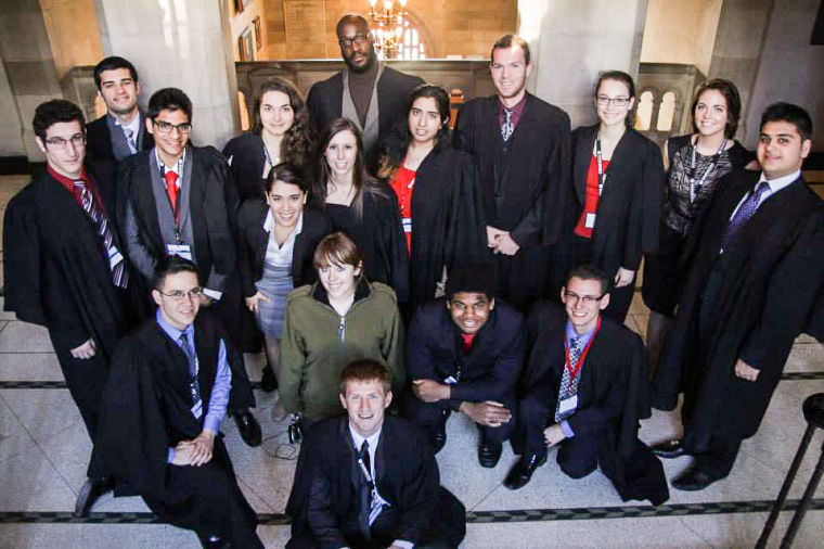 Model UN team competes in North American conference