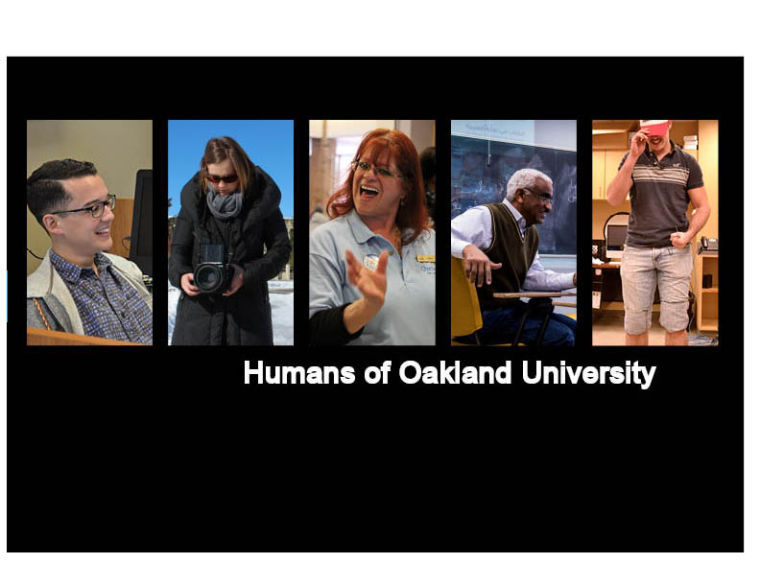 Humans of OU: Photography class assignment expands into larger project