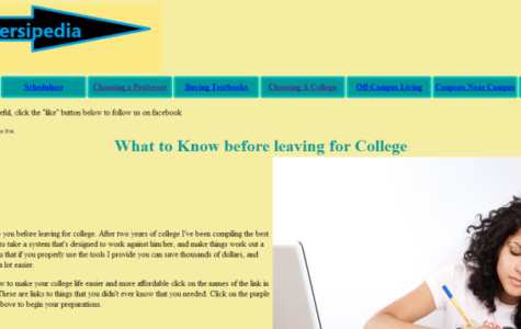 """I was encouraged to create the website to help inform college students in general about the tools that are available online that assist students academically,"" Gozdor said of his website YOUniversipedia.com."