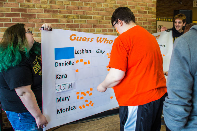 GSC creates activity to break down stereotypes, taboos and discomfort