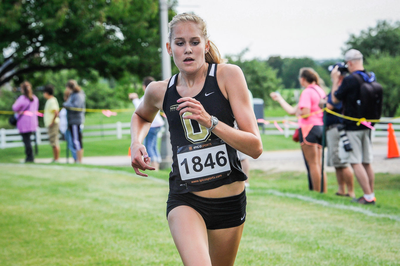 """""""It's a big part of my life. I don't know what life is without running,"""" Ashley Burr said."""