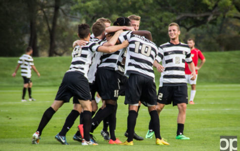 Men's soccer drops homecoming game 2-1 in overtime