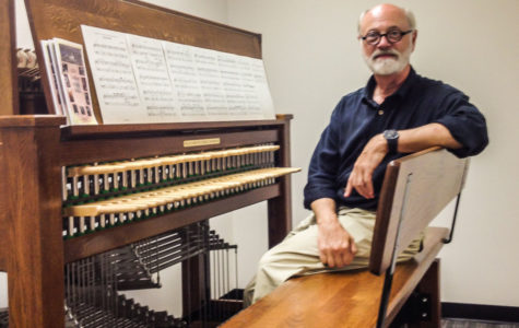 Dennis Curry, Oakland University's carillon player, sits down and shares his excitement about Elliot Tower's carillon.