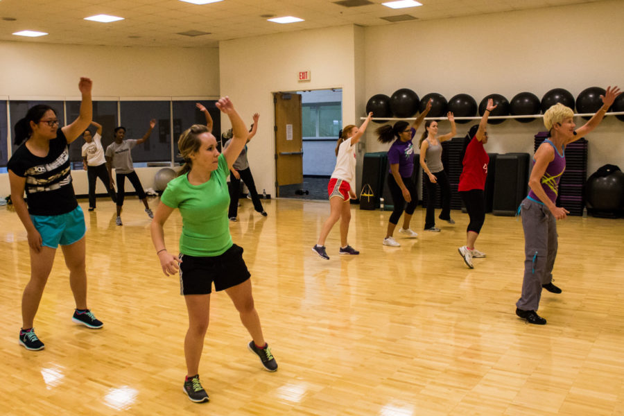 The Department of Campus Recreation offers students and recreation members a weekly schedule of group exercise classes and a variety of mind and body fitness classes for physical activity, stress management and social interaction.