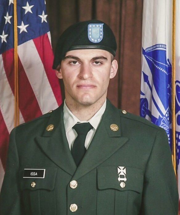 Bassam Issa served in the U.S. Army in Iraq and Afghanistan for three years as a mechanic.