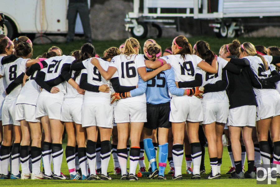 The victory improved OU's record to 5-10-2, with a Horizon League record of 3-3-1. The victory moves the Golden Grizzlies into fifth place in the Horizon League standings.