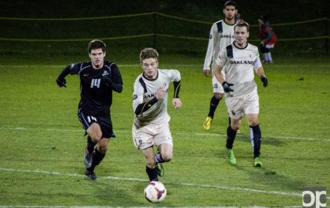 Men's soccer ties 1-1 on senior night