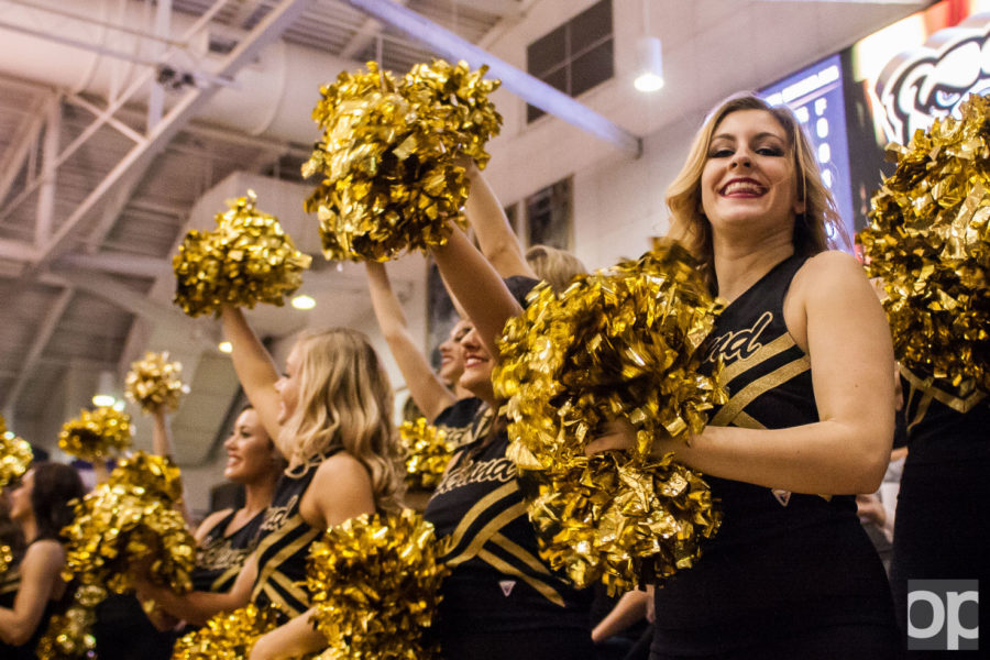 Oakland University men's basketball tipped off their season in an exhibition against Ferris State and won 94-87 at the O'rena Nov. 1.