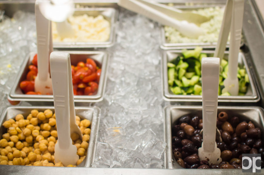"""Chartwells, Oakland University's contracted food service vendor meets regularly with residents with dietary restrictions to cater to their needs at college. """"We work with the housing and disabilities offices to see if our meal program will fit the student's profile,"""" said Resident DistrictManager Gerald Gatto."""
