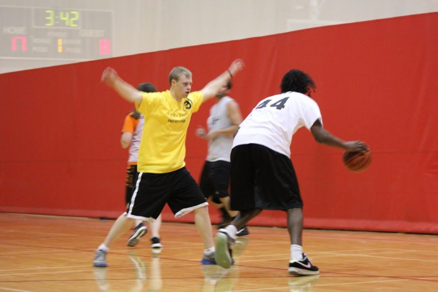 Special Olympics and OU players team up through Unified Sports program