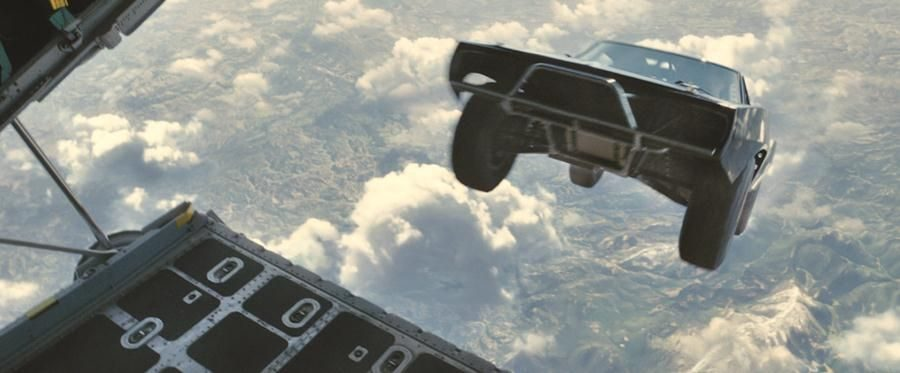 """Review: """"Furious 7"""" races to the top of series"""