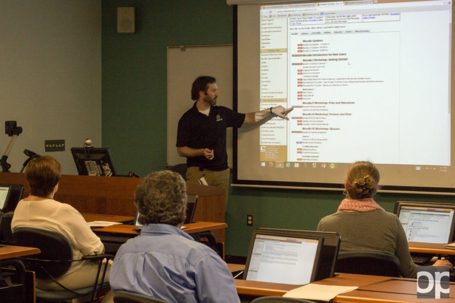 OU instructors are offered free Moodle training courses each semester.