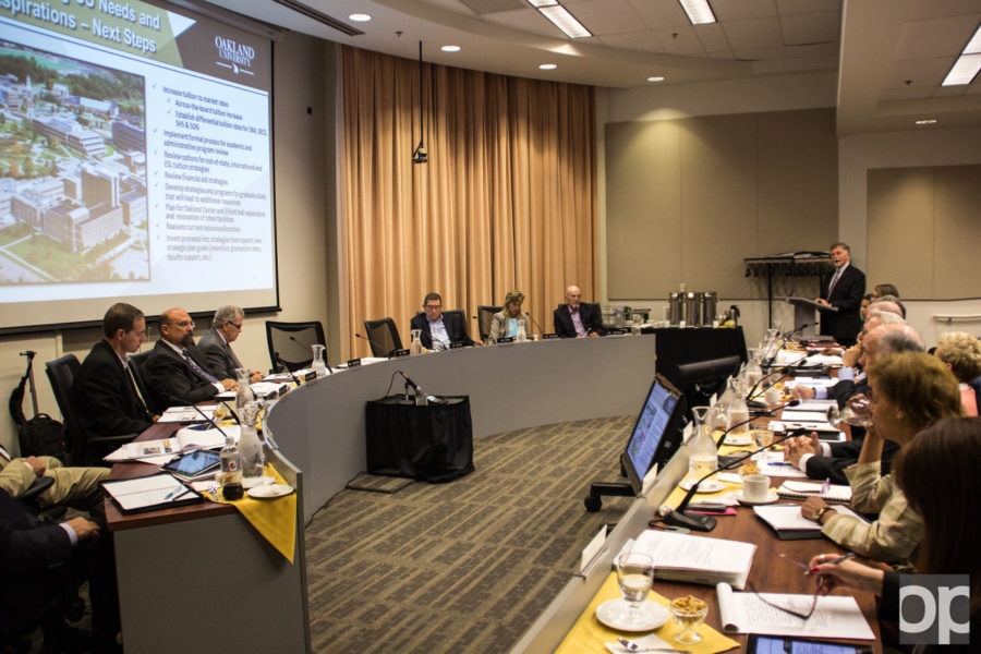 The Board of Trustees' audit committee gathered on Aug. 26 to discuss a conflict of interest policy for the university.