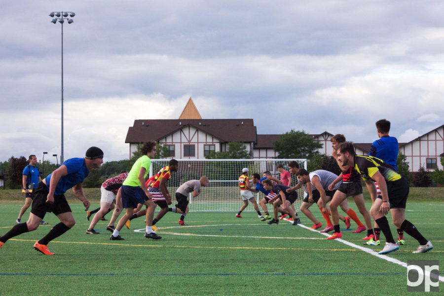 The Oakland University Rugby Club held their first practice on Sunday, August 20th, 2015.