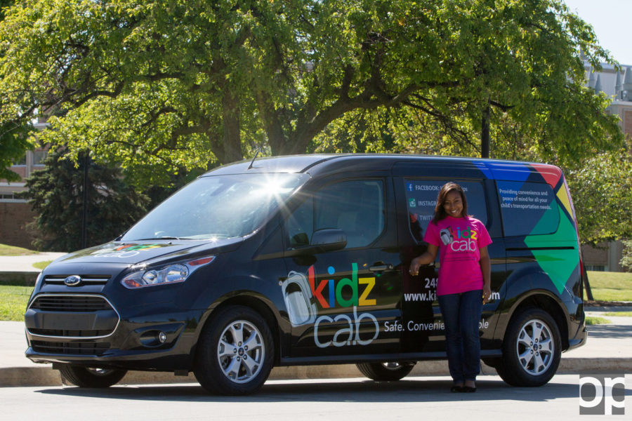 Aireal Taylor, an Oakland University business student, is the Founder, President and CEO of Kidz Cab.