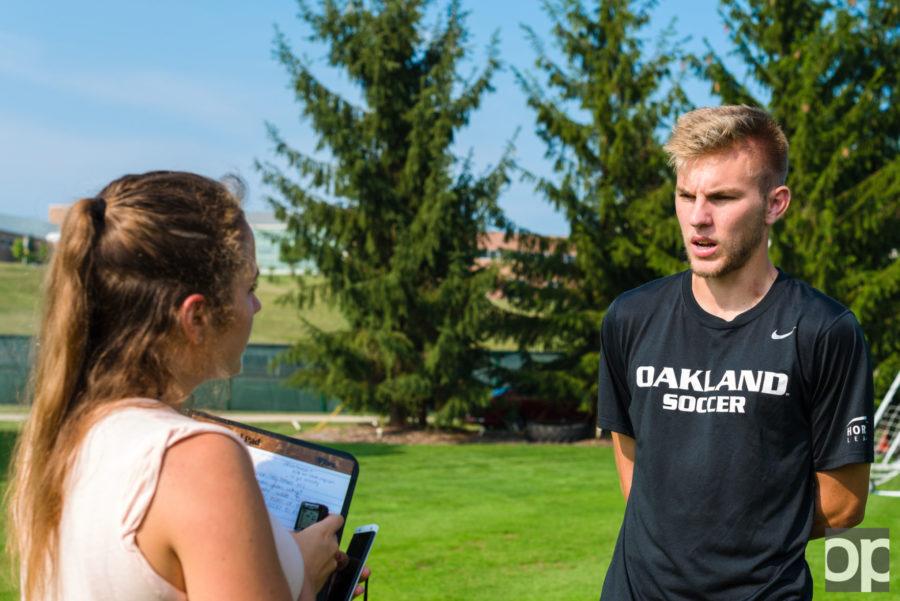 Alex Serwatka is a Junior from Troy, Mich. He plays as midfielder for the Golden Grizzlies.