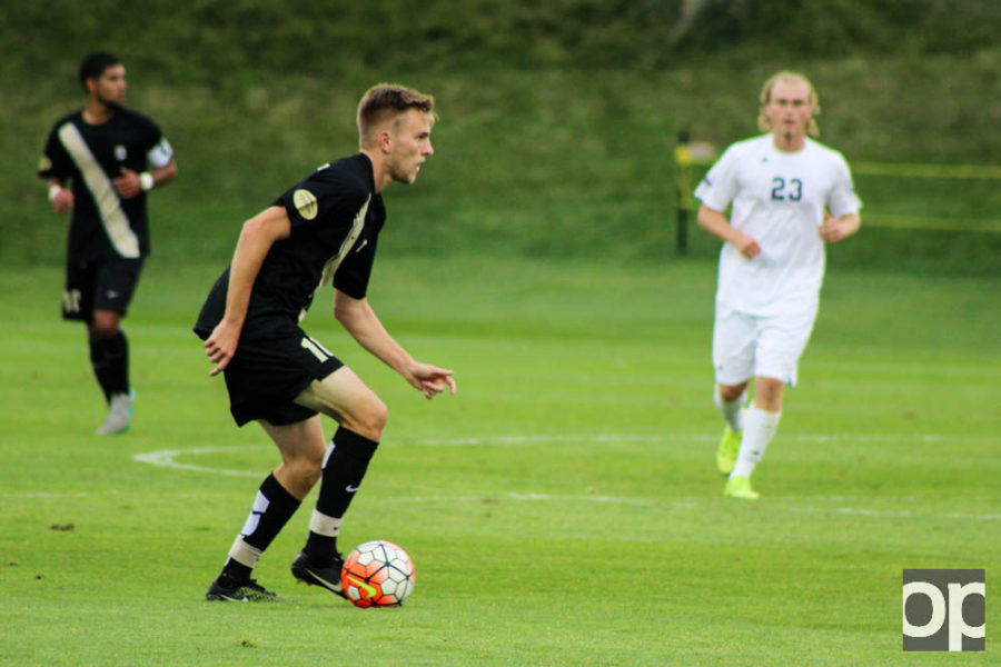 The+Golden+Grizzlies+lost+2-1+against+UMBC+on+Sunday%2C+Sept.+6.+Matt+Rickard+was+named+player+of+%C2%A0the+game.