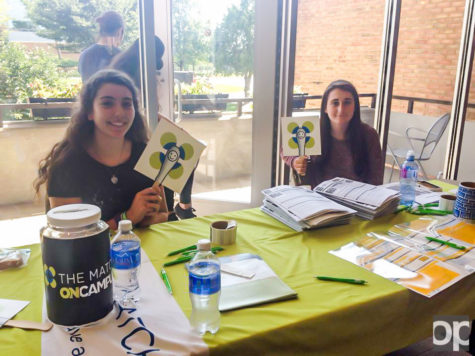 On Tuesday, Sept. 15, BEtheMATCH had a booth in the Oakland Center for students to apply to be a bone marrow donor.