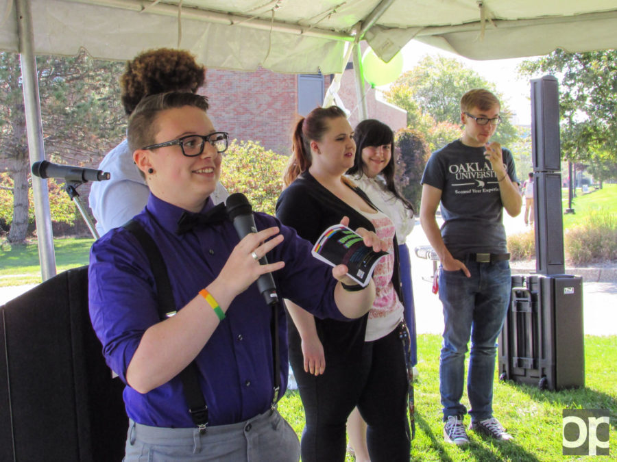 On Sept. 17, The Gender and Sexuality Center, the Gay Straight Alliance, the LGBT Media Club, The LGBTQIA Employee Resource Group and Transcend put an event to welcome new students to campus.